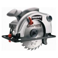 Graphite Circelzaagmachine 1200w 185x20mm Max 65mm In Doos